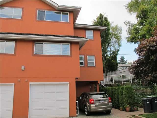 Main Photo: 106 303 CUMBERLAND Street in New Westminster: Sapperton Townhouse for sale : MLS®# V915810