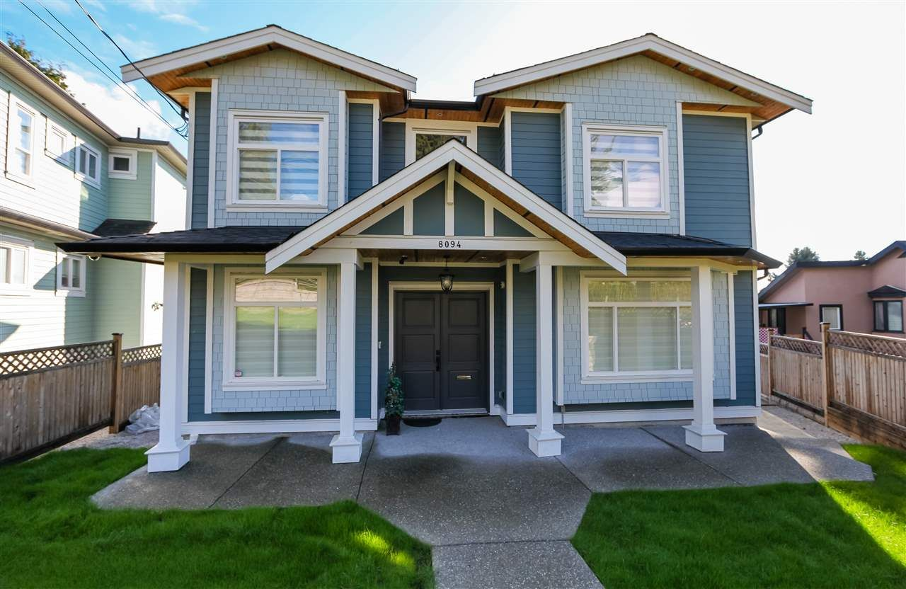 Main Photo: 8094 GILLEY AVENUE in Burnaby: South Slope House for sale (Burnaby South)  : MLS®# R2233466