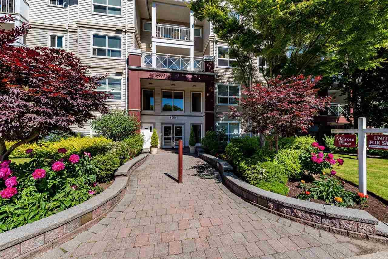 """Main Photo: 104 8068 120A Street in Surrey: Queen Mary Park Surrey Condo for sale in """"MELROSE PLACE"""" : MLS®# R2591327"""