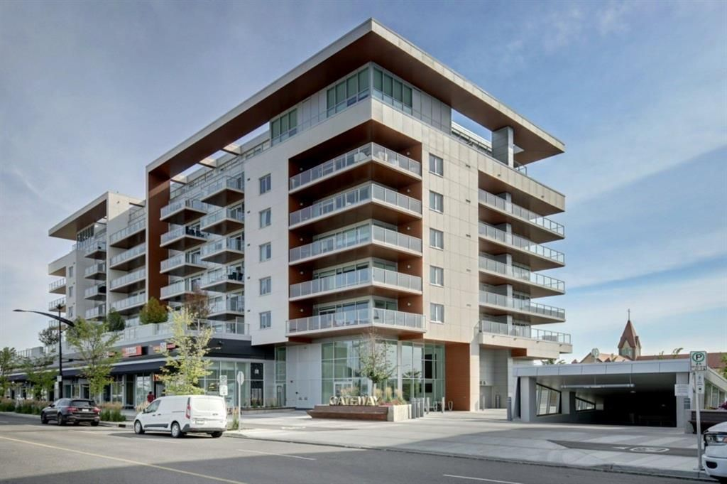 Main Photo: 604 8445 Broadcast Avenue SW in Calgary: West Springs Apartment for sale : MLS®# A1146296