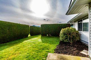 "Photo 20: 122 7610 EVANS Road in Chilliwack: Sardis West Vedder Rd Townhouse for sale in ""Cottonwood Retirement Village"" (Sardis)  : MLS®# R2441700"