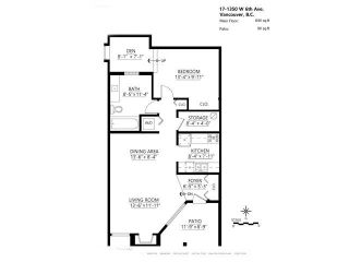 """Photo 16: 17 1350 W 6TH Avenue in Vancouver: Fairview VW Townhouse for sale in """"PEPPER RIDGE"""" (Vancouver West)  : MLS®# V1094949"""
