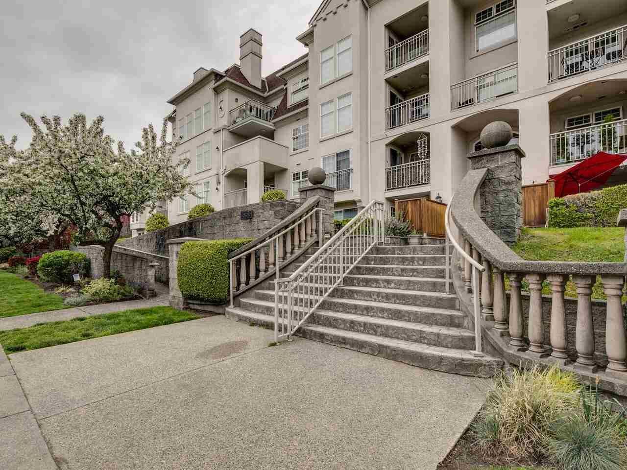 "Main Photo: 108 1655 GRANT Avenue in Port Coquitlam: Glenwood PQ Condo for sale in ""THE BENTIN"" : MLS®# R2574865"