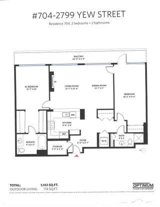 """Photo 32: 704 2799 YEW Street in Vancouver: Kitsilano Condo for sale in """"TAPESTRY AT ARBUTUS WALK"""" (Vancouver West)  : MLS®# R2617372"""