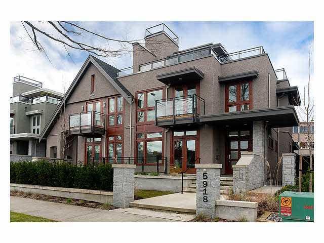 Main Photo: 5918 CHANCELLOR BOULEVARD in : University VW 1/2 Duplex for sale (Vancouver West)  : MLS®# V878813