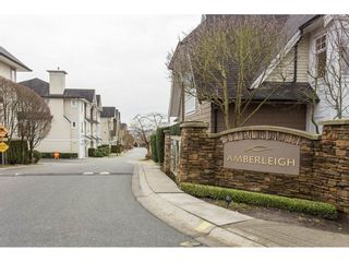 """Photo 1: 40 20560 66 Avenue in Langley: Willoughby Heights Townhouse for sale in """"AMBERLEIGH II"""" : MLS®# R2134449"""