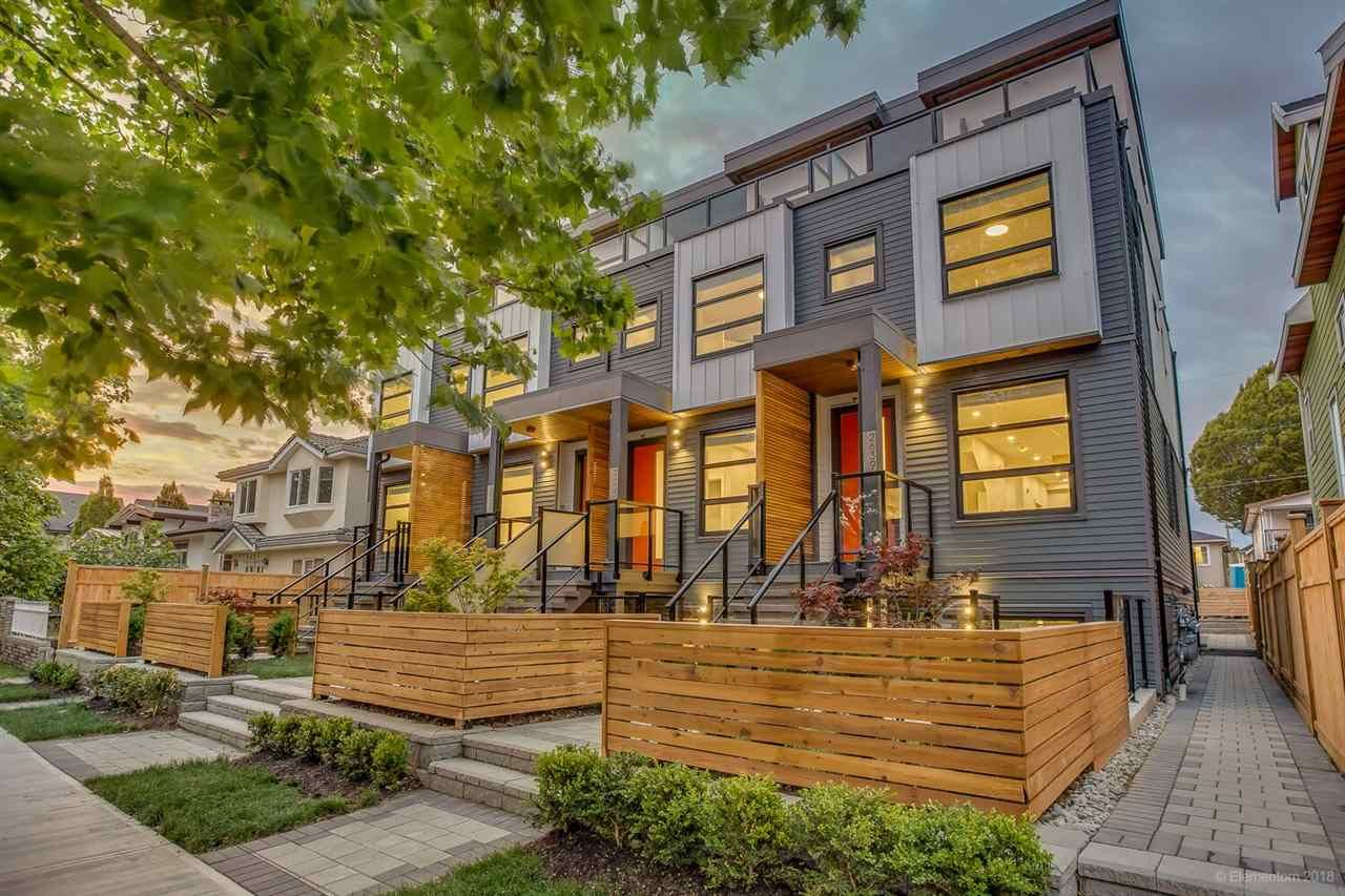 Main Photo: 2639 DUKE Street in Vancouver: Collingwood VE Townhouse for sale (Vancouver East)  : MLS®# R2428659