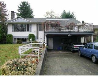 Photo 1: 2089 CONCORD AV in Coquitlam: Cape Horn House for sale : MLS®# V563726
