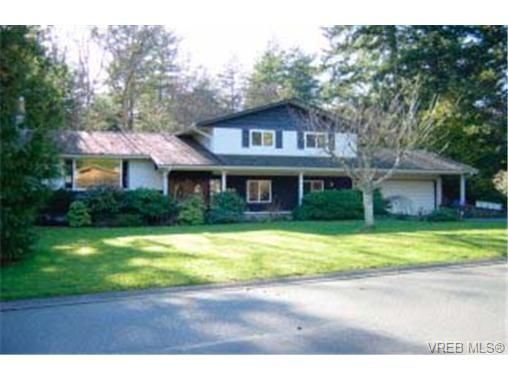 Main Photo: 4518 Tanglewood Cres in VICTORIA: SE Broadmead House for sale (Saanich East)  : MLS®# 279735