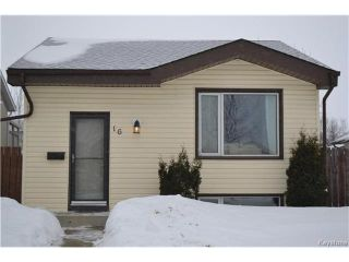 Photo 1: 16 Red Maple Road in Winnipeg: Riverbend Residential for sale (4E)  : MLS®# 1702335