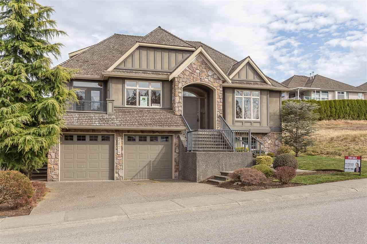 "Main Photo: 3874 COACHSTONE Way in Abbotsford: Abbotsford East House for sale in ""Creekstone on the Park"" : MLS®# R2373210"