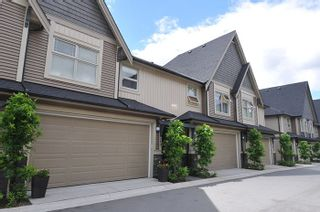 """Photo 1: 23 19095 MITCHELL Road in Pitt Meadows: Central Meadows Townhouse for sale in """"BROGDEN BROWN"""" : MLS®# R2180614"""