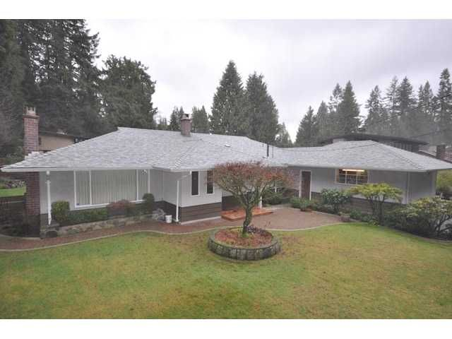 Photo 1: Photos: 4294 FONTEYN Way in North Vancouver: Canyon Heights NV House for sale : MLS®# V867977