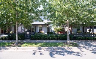 """Photo 1: 75 6450 187 Street in Surrey: Cloverdale BC Townhouse for sale in """"Mosaic"""" (Cloverdale)  : MLS®# R2598352"""