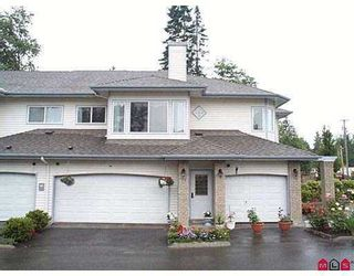 """Photo 1: # 73 - 21579, 88B Avenue in Langley: Walnut Grove Townhouse for sale in """"Carriage Park"""" : MLS®# F2518044"""