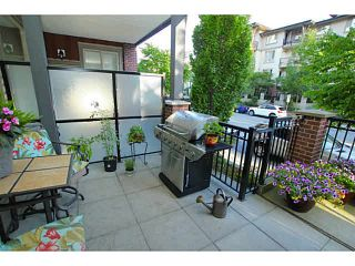 "Photo 12: 104 2628 MAPLE Street in Port Coquitlam: Central Pt Coquitlam Condo for sale in ""VILLAGIO"" : MLS®# V1129193"