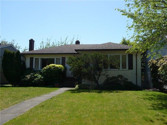 Main Photo: 2050 W 61ST Avenue in Vancouver: S.W. Marine House for sale (Vancouver West)  : MLS®# V1005694
