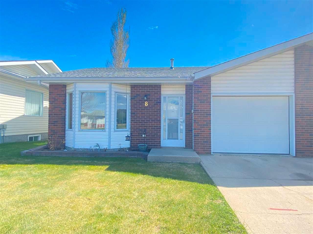 Main Photo: 8 11015 105 Avenue: Westlock House Half Duplex for sale : MLS®# E4244100