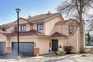 Main Photo: 18 5810 Patina Drive SW in Calgary: Patterson Row/Townhouse for sale : MLS®# A1089660