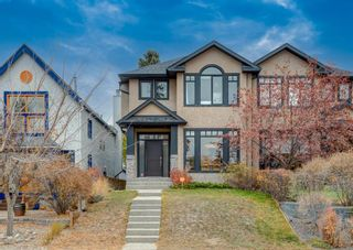 Main Photo: 602 16 Street NW in Calgary: Hillhurst Semi Detached for sale : MLS®# A1155872