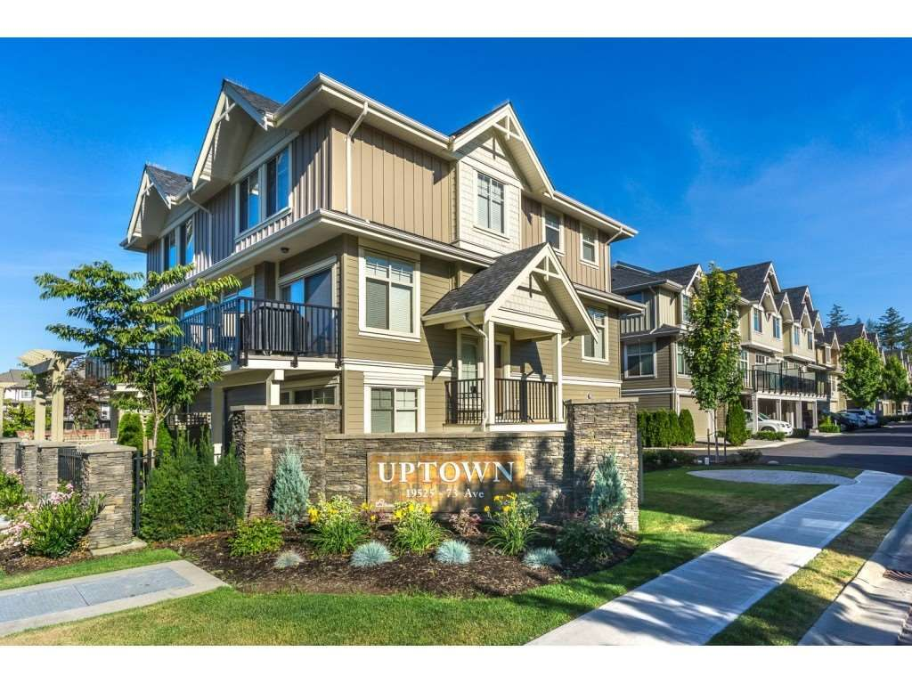 """Main Photo: 98 19525 73 Avenue in Surrey: Clayton Townhouse for sale in """"Uptown"""" (Cloverdale)  : MLS®# R2242351"""