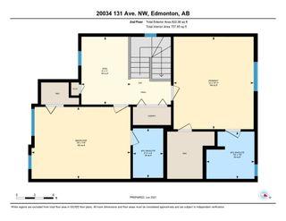 Photo 40: 20034 131 Avenue in Edmonton: Zone 59 House Half Duplex for sale : MLS®# E4247953