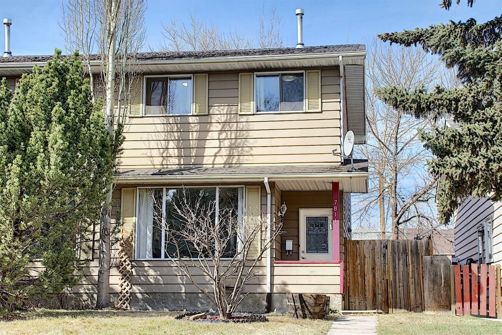 Main Photo: 7811 21 Street SE in Calgary: Ogden Semi Detached for sale : MLS®# A1091682