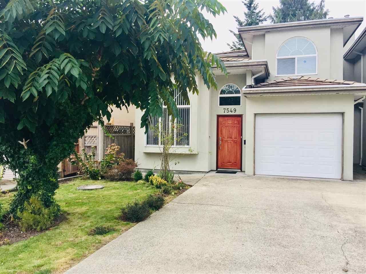 Main Photo: 7549 16TH AVENUE in : Edmonds BE 1/2 Duplex for sale : MLS®# R2420057