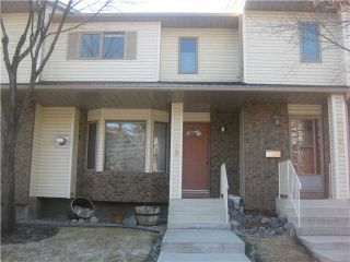 Main Photo: 5492 PATINA Drive SW in CALGARY: Prominence Patterson Townhouse for sale (Calgary)  : MLS®# C3500029
