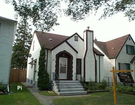 Main Photo: 586 LANSDOWNE Avenue in WINNIPEG: North End Single Family Detached for sale (North West Winnipeg)  : MLS®# 2614825