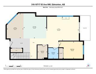 Photo 19: 316 10717 83 Avenue in Edmonton: Zone 15 Condo for sale : MLS®# E4264468