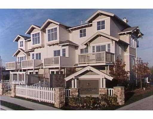 "Main Photo: 35 6588 BARNARD Drive in Richmond: Terra Nova Townhouse for sale in ""CAMBERLEY"" : MLS®# V684301"