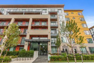 """Photo 1: 404 621 REGAN Avenue in Coquitlam: Coquitlam West Condo for sale in """"SIMON 2"""" : MLS®# R2610540"""