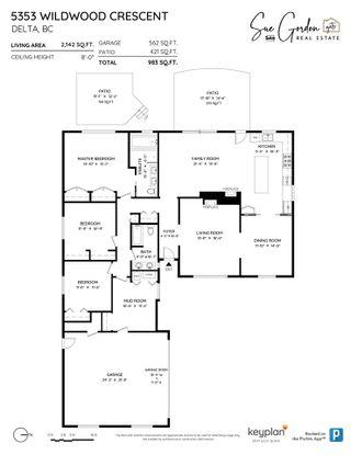 Photo 38: 5353 WILDWOOD Crescent in Delta: Cliff Drive House for sale (Tsawwassen)  : MLS®# R2541314