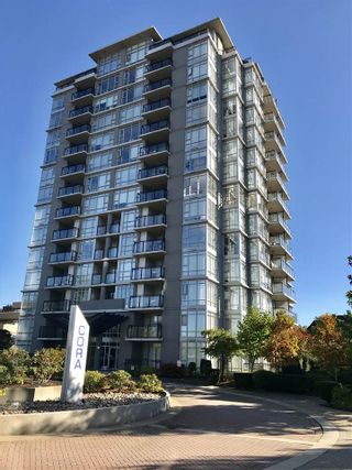 "Photo 1: 801 575 DELESTRE Avenue in Coquitlam: Coquitlam West Condo for sale in ""CORA TOWERS"" : MLS®# R2317122"