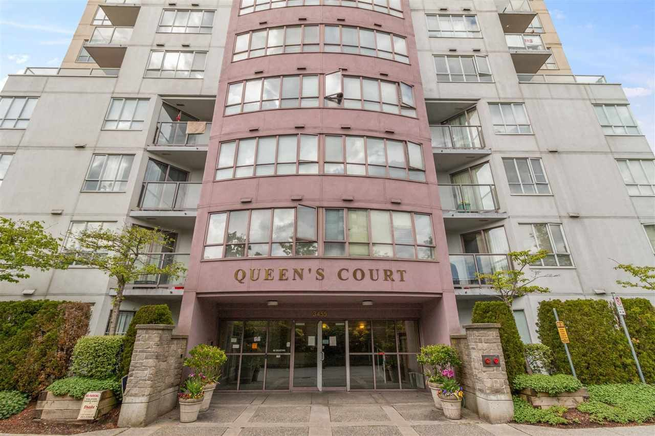 "Main Photo: 704 3455 ASCOT Place in Vancouver: Collingwood VE Condo for sale in ""QUEENS COURT"" (Vancouver East)  : MLS®# R2575518"