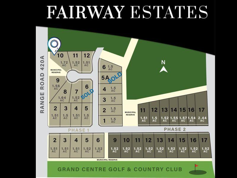 FEATURED LISTING: Lot 10 Block 2 Fairway Estates Rural Bonnyville M.D.