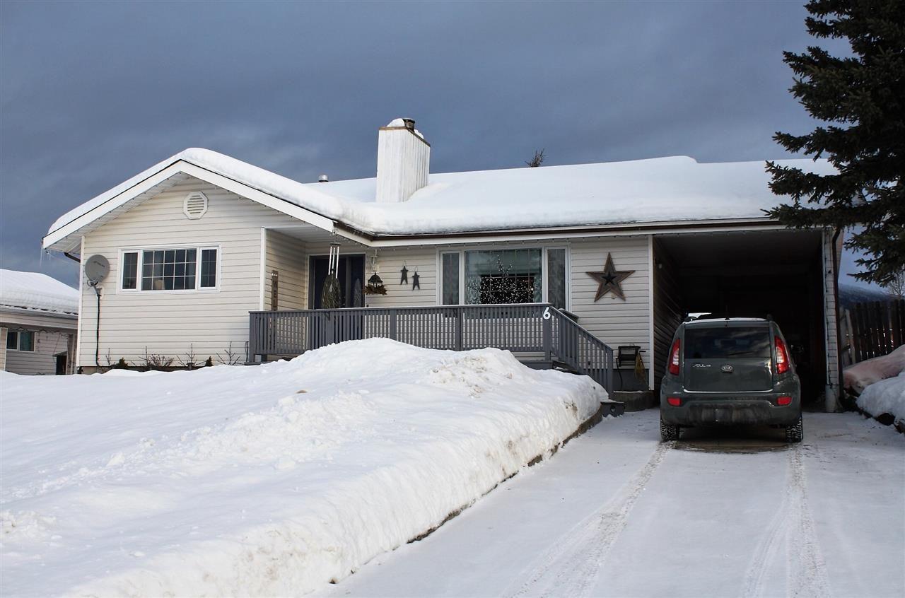 Main Photo: 6 TUDYAH Place in Mackenzie: Mackenzie -Town House for sale (Mackenzie (Zone 69))  : MLS®# R2529262