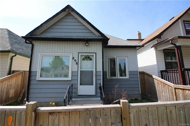 Main Photo: 898 Pritchard Avenue in Winnipeg: North End Residential for sale (4B)  : MLS®# 1813052