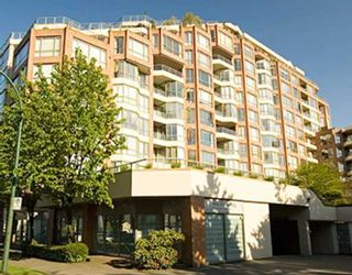 """Photo 10: 808 2201 PINE Street in Vancouver: Fairview VW Condo for sale in """"MERIDIAN COVE"""" (Vancouver West)  : MLS®# V645926"""
