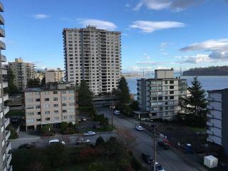 """Photo 1: 801 2135 ARGYLE Avenue in West Vancouver: Dundarave Condo for sale in """"THE CRESCENT"""" : MLS®# R2320802"""