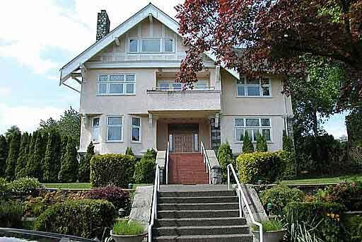 Main Photo: 1188 WOLFE AVENUE in : Shaughnessy House for sale : MLS®# V407623
