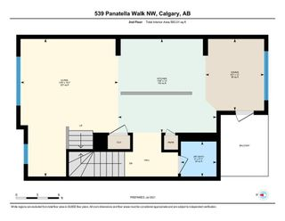 Photo 24: 539 Panatella Walk NW in Calgary: Panorama Hills Row/Townhouse for sale : MLS®# A1125854
