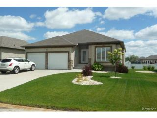 Photo 1: 36 Britton Bay in HEADINGLEY: Headingley North Condominium for sale (West Winnipeg)  : MLS®# 1417421
