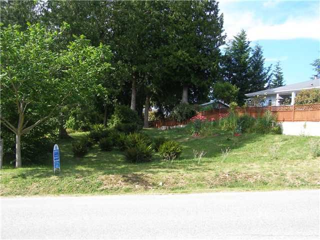 Main Photo: # LOT G HEATHER RD in Sechelt: Sechelt District Land for sale (Sunshine Coast)  : MLS®# V820849