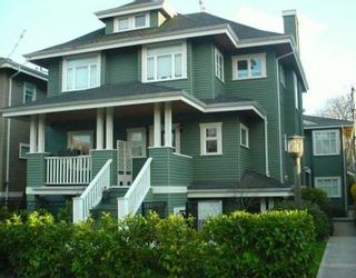 Photo 1: 158 W 14TH Ave in Vancouver: Mount Pleasant VW Townhouse for sale (Vancouver West)  : MLS®# V633672