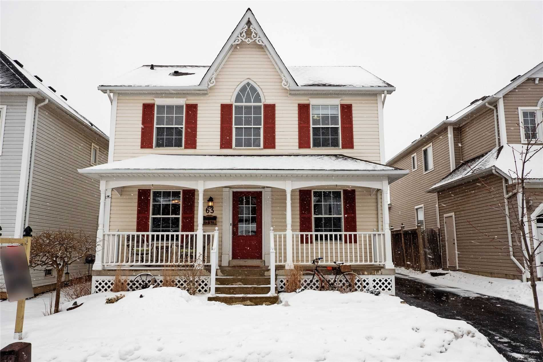 Main Photo: 63 Carson Avenue in Whitby: Brooklin House (2-Storey) for sale : MLS®# E4703423