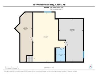 Photo 34: 38 1008 Woodside Way NW: Airdrie Row/Townhouse for sale : MLS®# A1123458