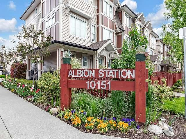 """Main Photo: 109 10151 240 Street in Maple Ridge: Albion Townhouse for sale in """"Albion Station"""" : MLS®# R2578071"""