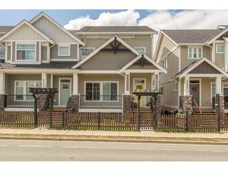 """Photo 1: 8615 CEDAR Street in Mission: Mission BC Condo for sale in """"Cedar Valley Row Homes"""" : MLS®# R2199726"""